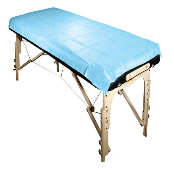 Wholesale Medical 100% pp non woven fabric Disposable bed sheet