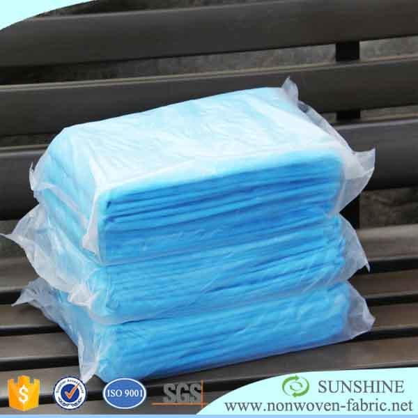 PP Spunbond Nonwoven Fabric Bedsheets for Hotel and Hospital