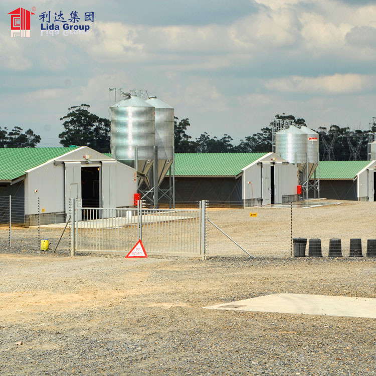 Hot dip galvanized BV test heat proof poultry shed construction farm on rent in nashik industrial chicken house