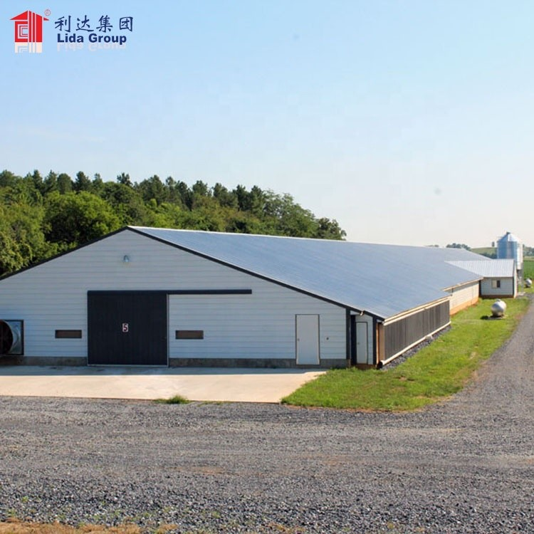 Close house poultry farming equipment chicken house, small poultry house