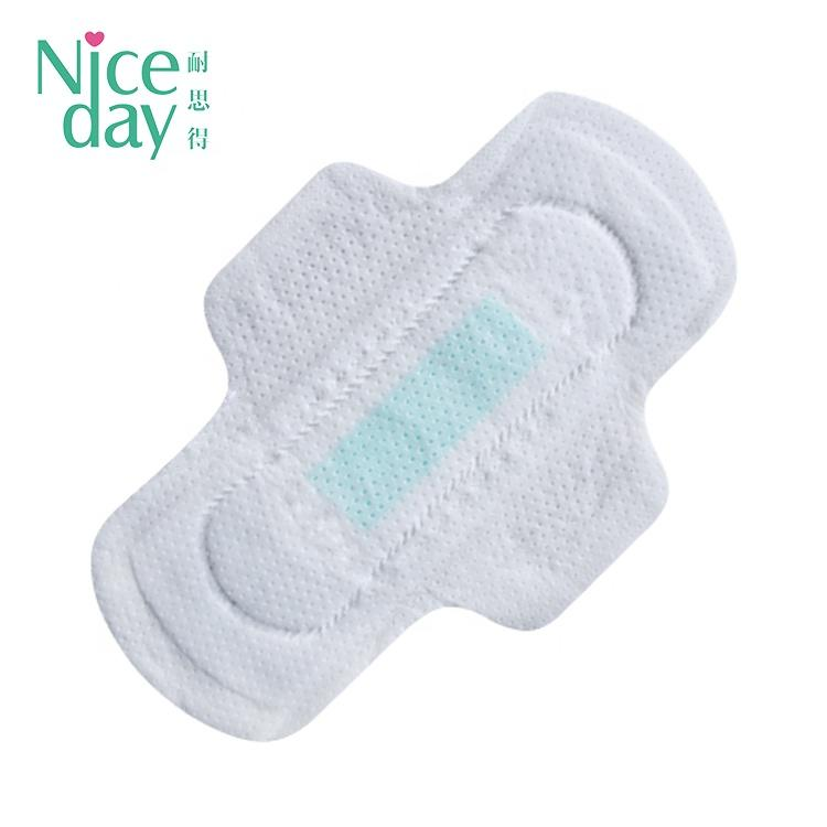 Colorful day use comfort women pad sanitary napkin