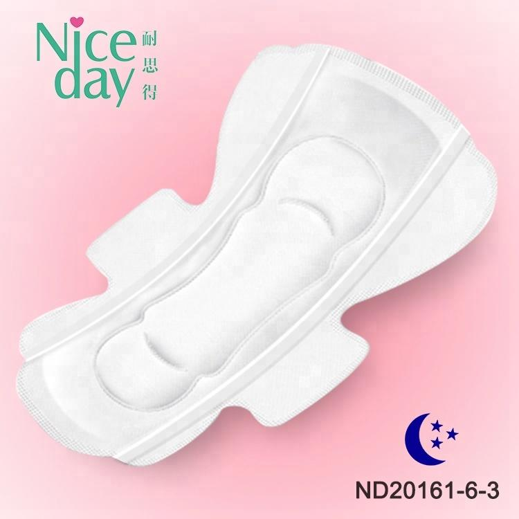 Ultra thin comfortable and softcare sanitary pad brand name ladies underwear ladies pad size sanitary napkin raw material