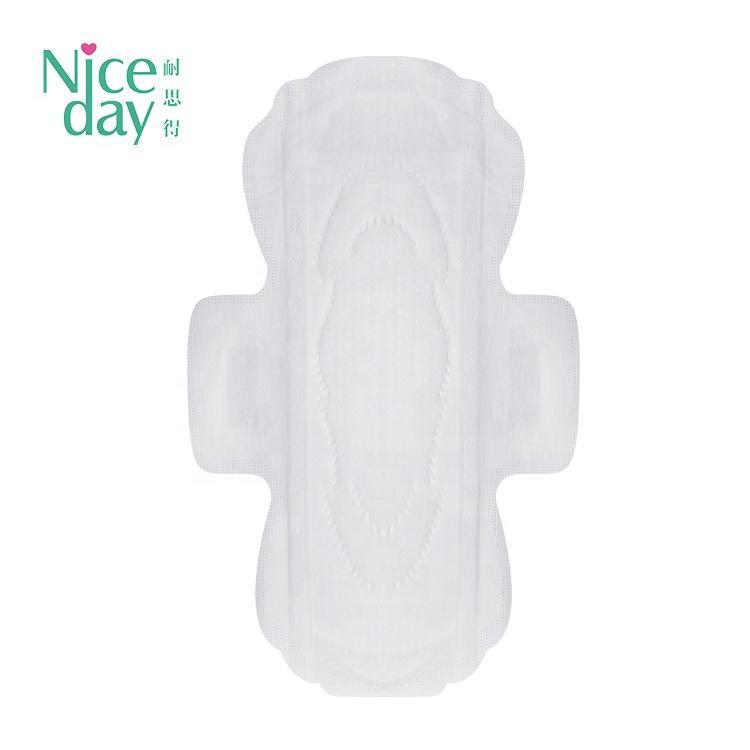 Economic sanitary napkins pad for lady oversized wide glue feminine hygiene