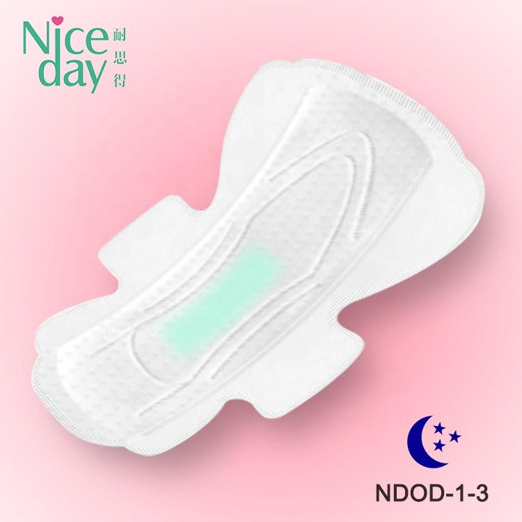 Super wings ladies sanitary pads extra long and high quality sanitary napkin with negative ion