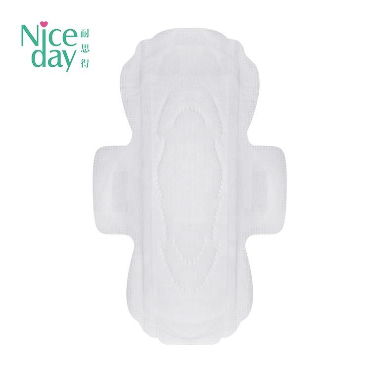 China Cost-effective niceday brand name sanitary napkin ultra soft sanitary napkin raw material