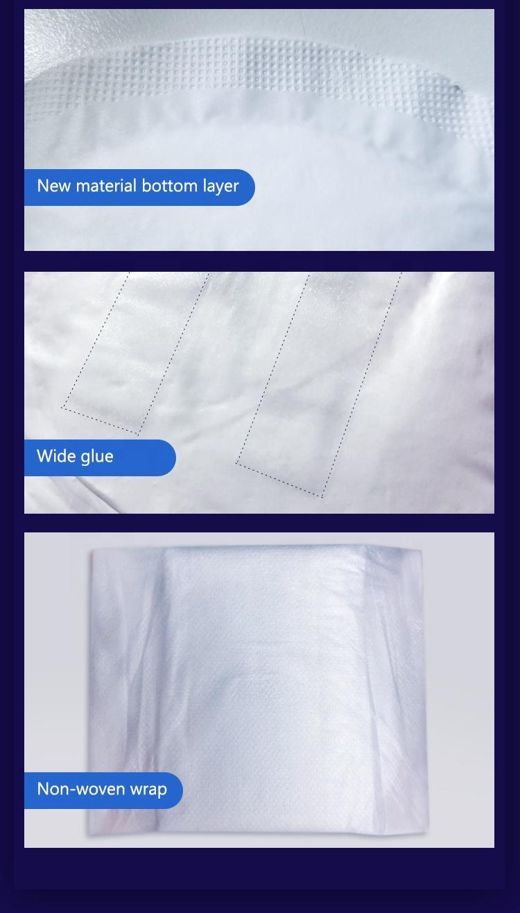 Maintain dryness ultra thin women sanitary napkin pad manufacturing