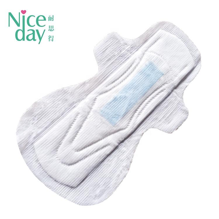 Unique product for women sanitary pads OEM Cotton sanitary napkin with negative ion philippines