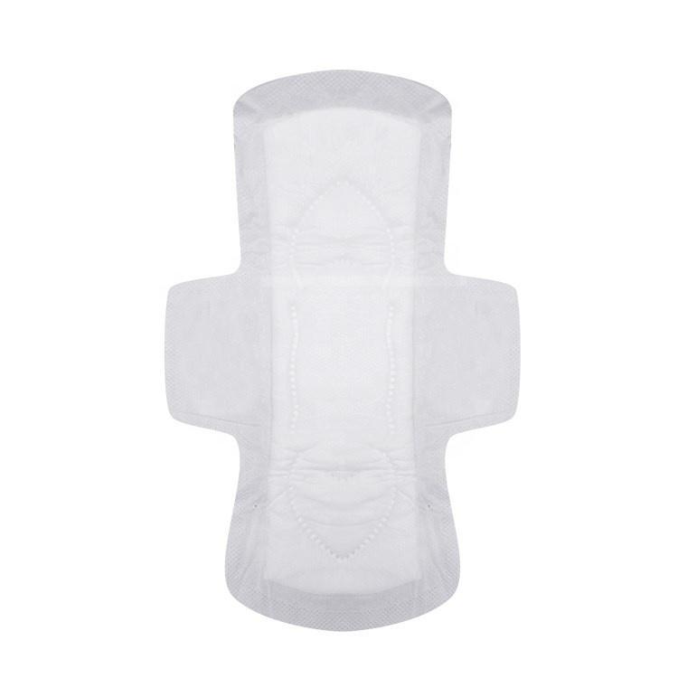 Disposable sanitary napkin pad oversized back glue feminine hygiene