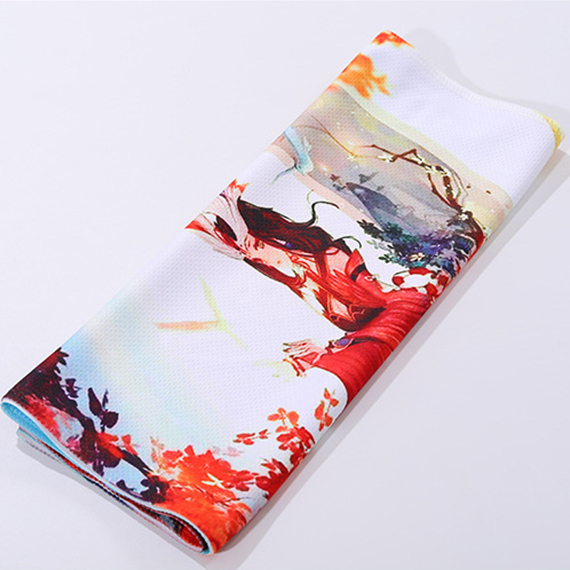 Custom printing sports cool towel Magic sports travel outdoor ice cooling cold towel