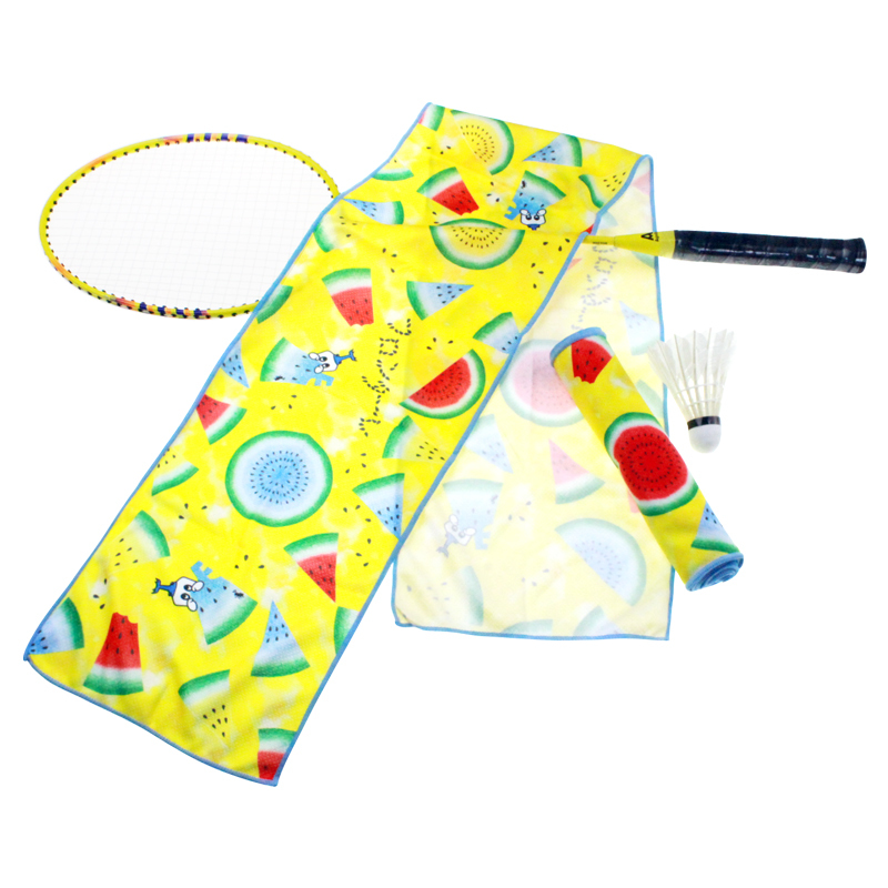 Custom printed sports cool towel magic sports travel outdoor ice cooling cold wool