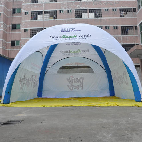 Out door promotional advertising events air dome tents sealed inflatable event tents