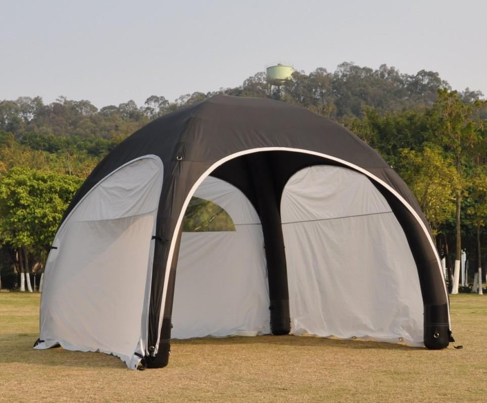 TPU Tarpaulin inflatable tent for party, outdoor inflatable tent
