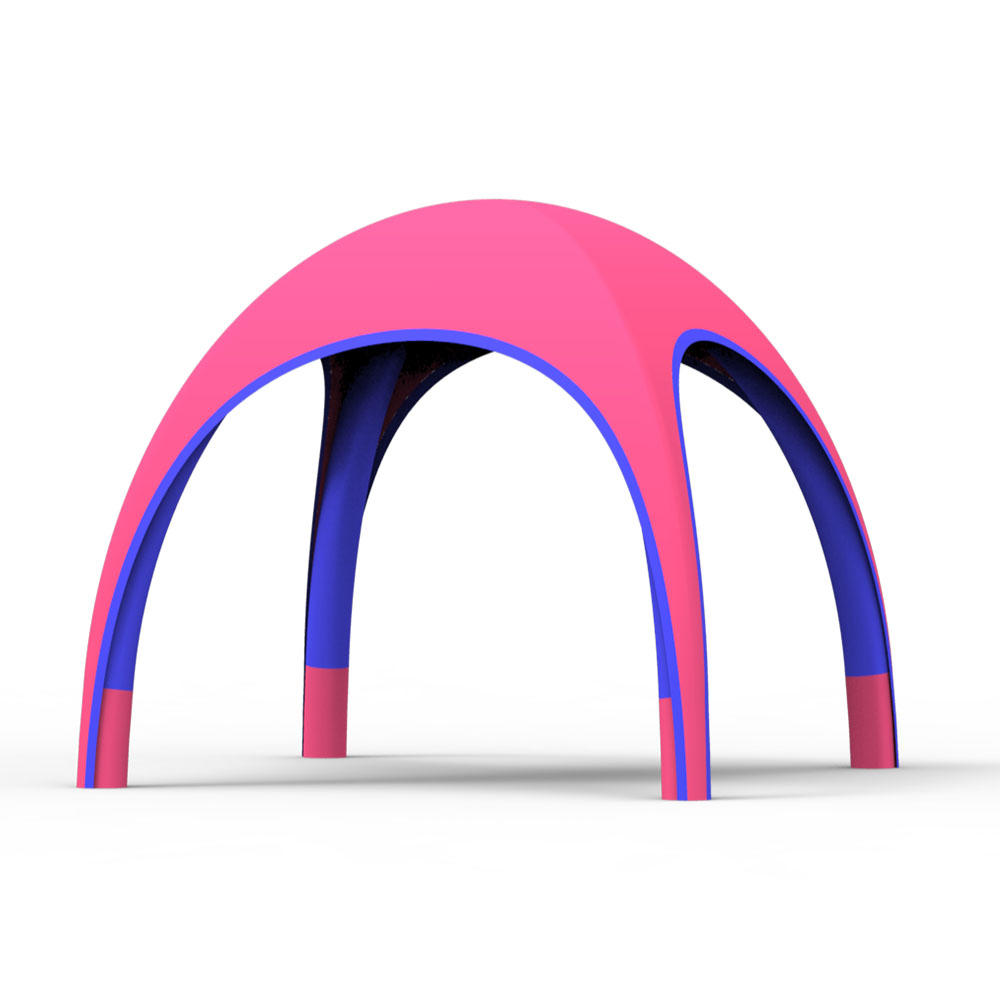 Foldable 5X5M outdoor TPU display sports event inflatable canopy tents//