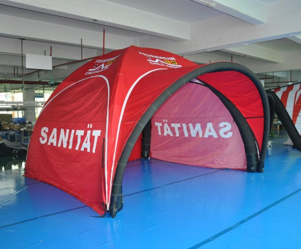 KCCE 4m Factory Price Custom Airtight Gazebo Advertising Inflatable Tent//