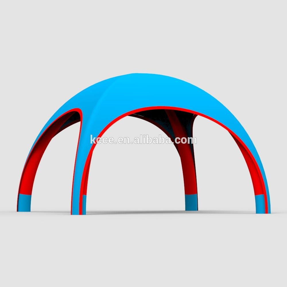 tente dome gonflable Manufacture double layer oxford UV proof 4x4m tents tennis party exhibition inflatable dome tent//