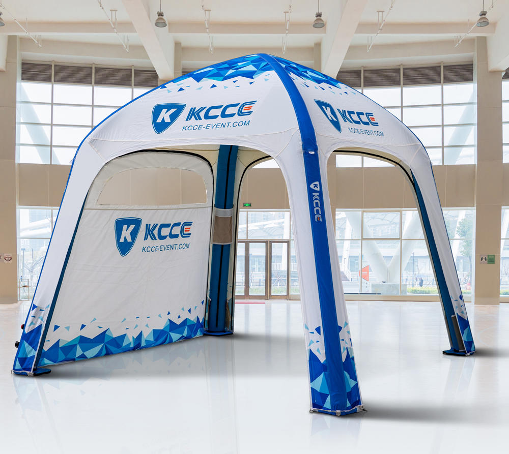 New Arrival KCCE Customized advertising inflatable 6*6M clamshell tent Manufacturer from China