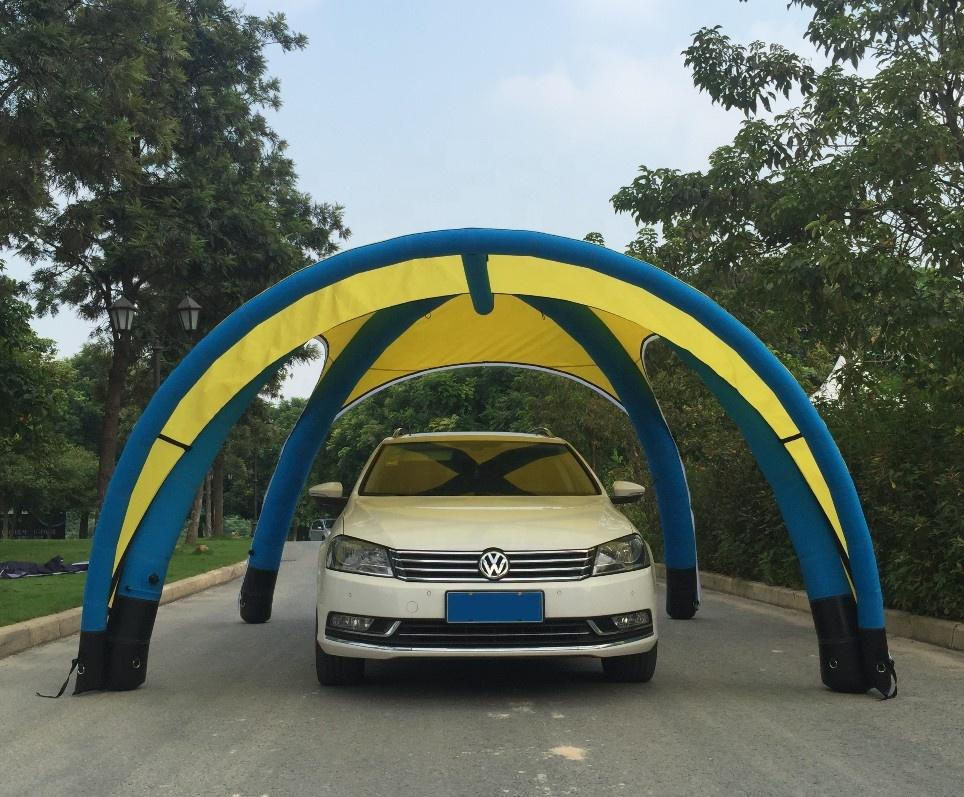 Outdoor large inflatable lawn tent for promotion events and activities