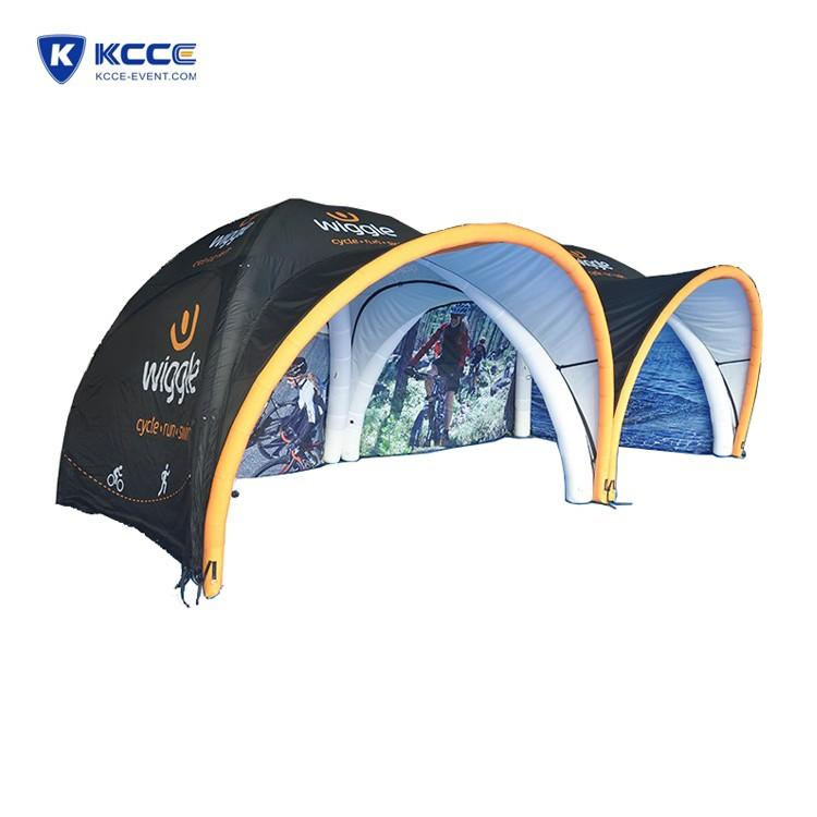 Fast up100% Full Test Custom Design Customized material portable tent platform Event air tent Factory