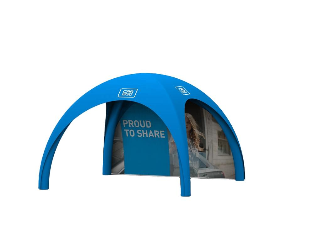 Outdoor double side printinflatable tent,air tight tent