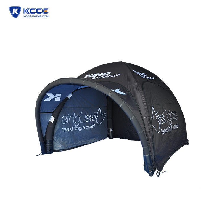 Customized inflatable spider tent for trade show, air tent for event party