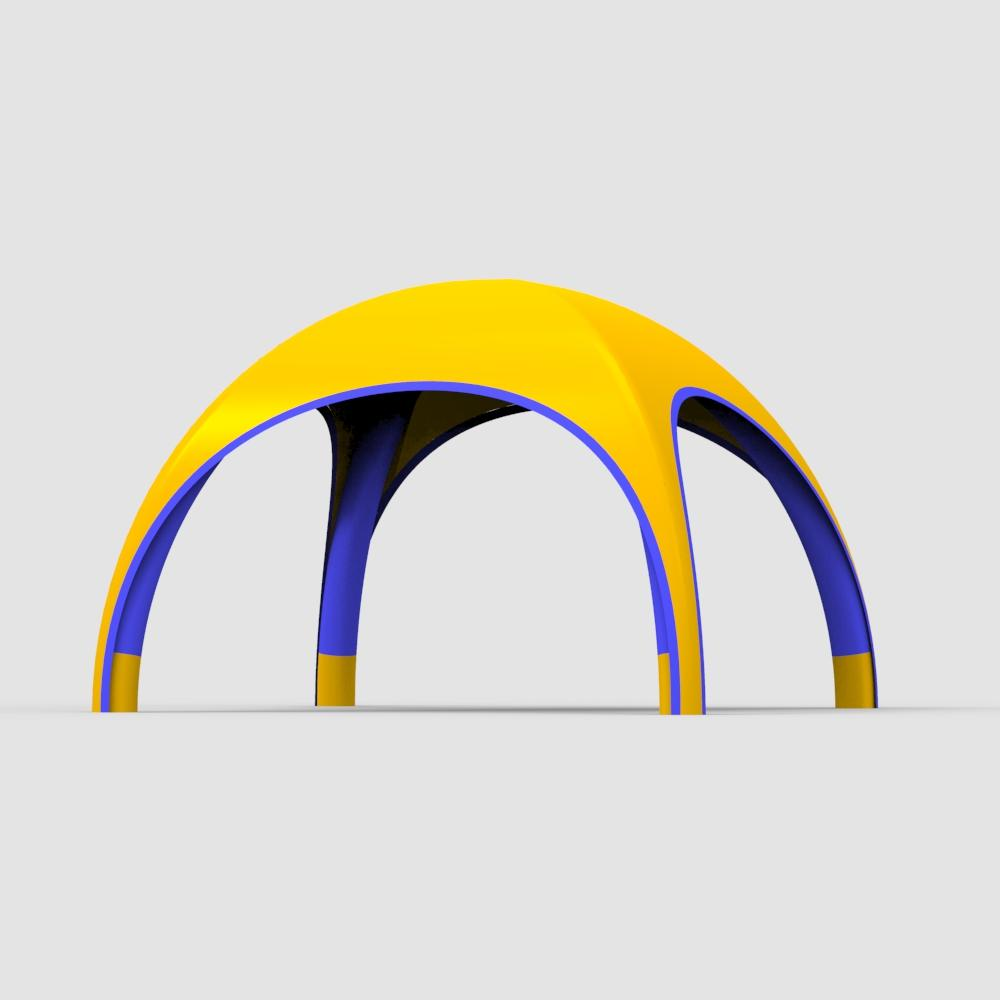 Hot Sale 100% Full Inspection exhibition display Cpai-84 standard inflatable spider tents//