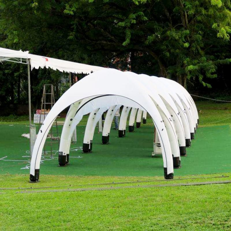 Comfortable Outdoor Unique Design Ceremony Party Connections LED Canopy Inflatable Tents//