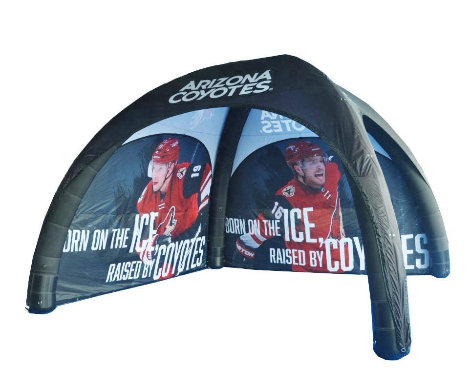 Customized inflatable air tent event, inflatable gazebo canopy tent