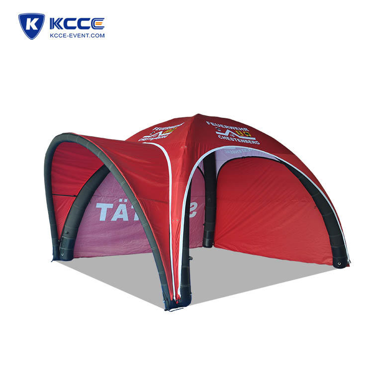 Outdoor pop up inflatable tent, advertising trade show tent, inflatable spider tent