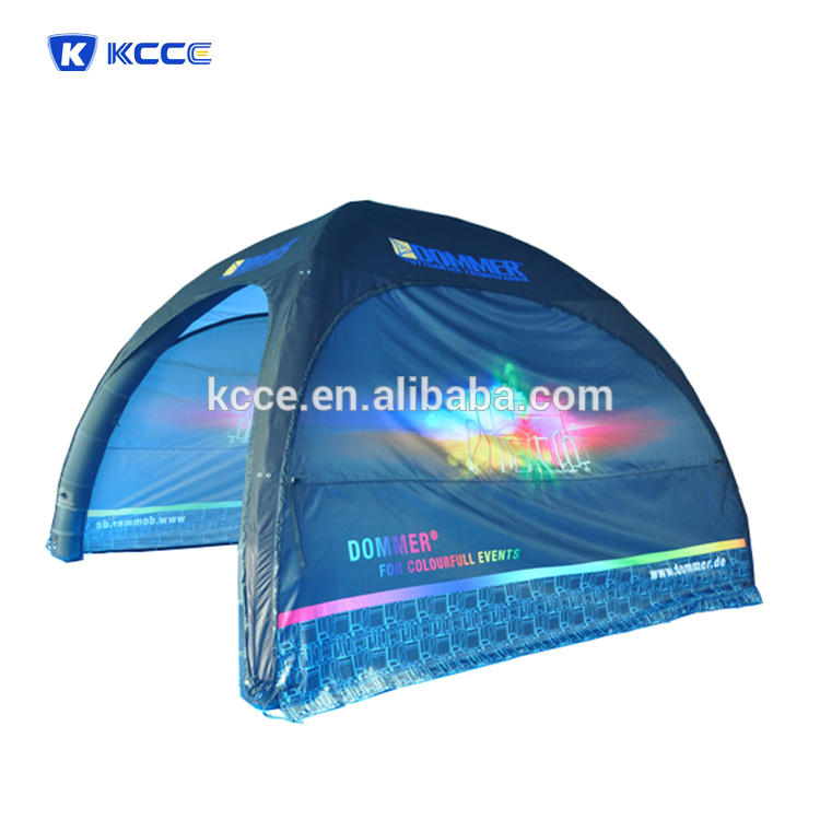pop up inflatable tent for sales, advertising air tight tent for promotion