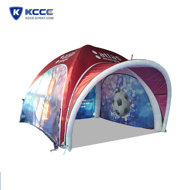 Igloo outdoor air tent, inflatable camping tent/beach tent