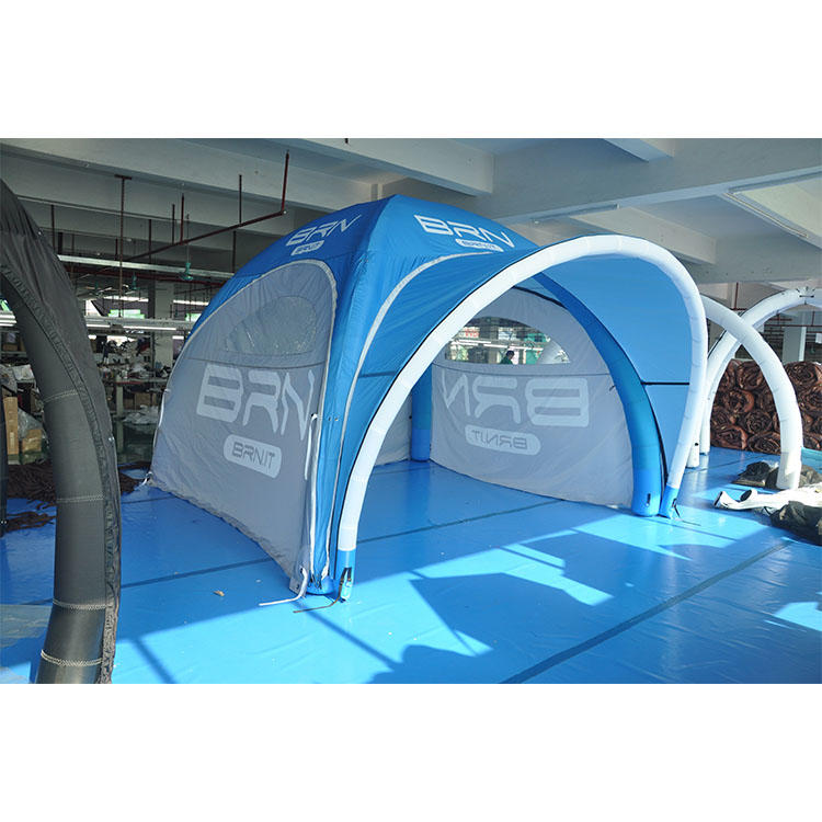 Promotional inflatable branding tent