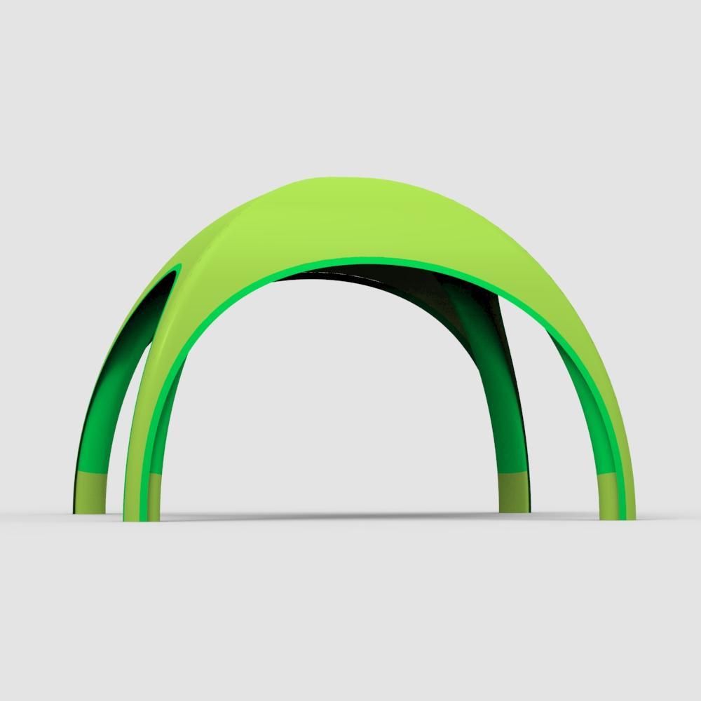 Aufblasbares Ausstellungszelt TPU 400D Dacron igloo awning 3x3m party inflatable exhibition tent//