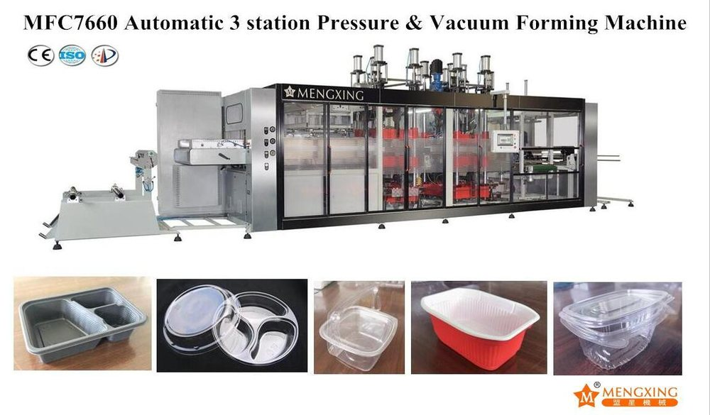 Multi Function Plastic Egg Tray Thermoforming Machine for PP PS Pet Material