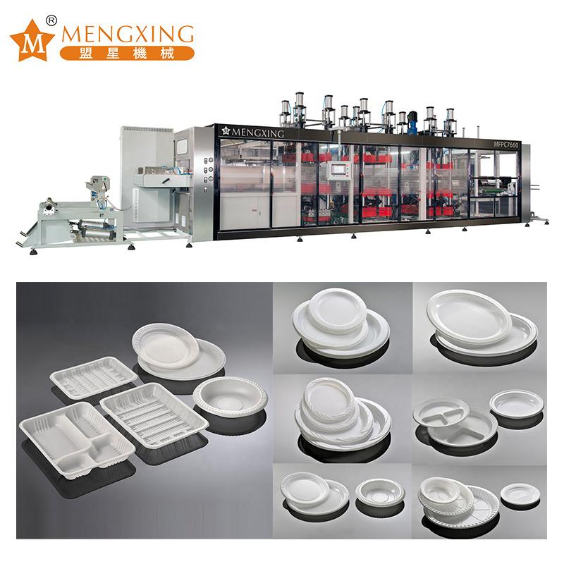 Plastic Plate Product Forming Machine Vacuum Pressure Forming Machine