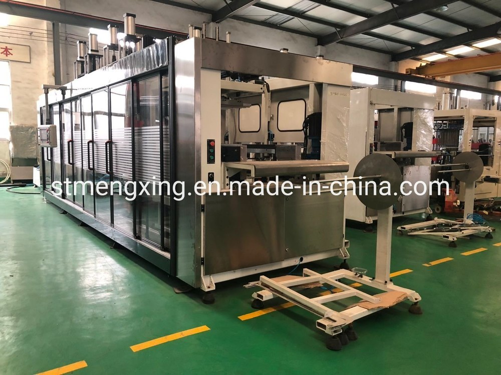 High Speed 3 Stations Pressure &Vacuum Forming Machine