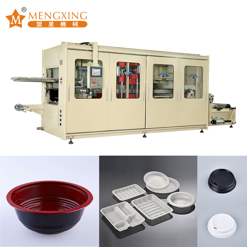 Forming Machinery Disposable Cup/ Bowl/ Box/ Container/ Lid Thermoforming Machine Vacuum Forming Machine