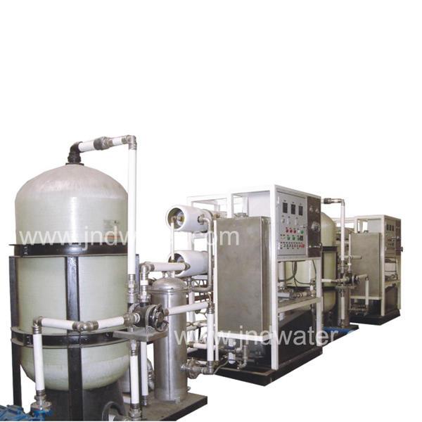 Wholesale operating pressure 4 ~ 6.5Mpa seawater desalination equipment distilled water equipment
