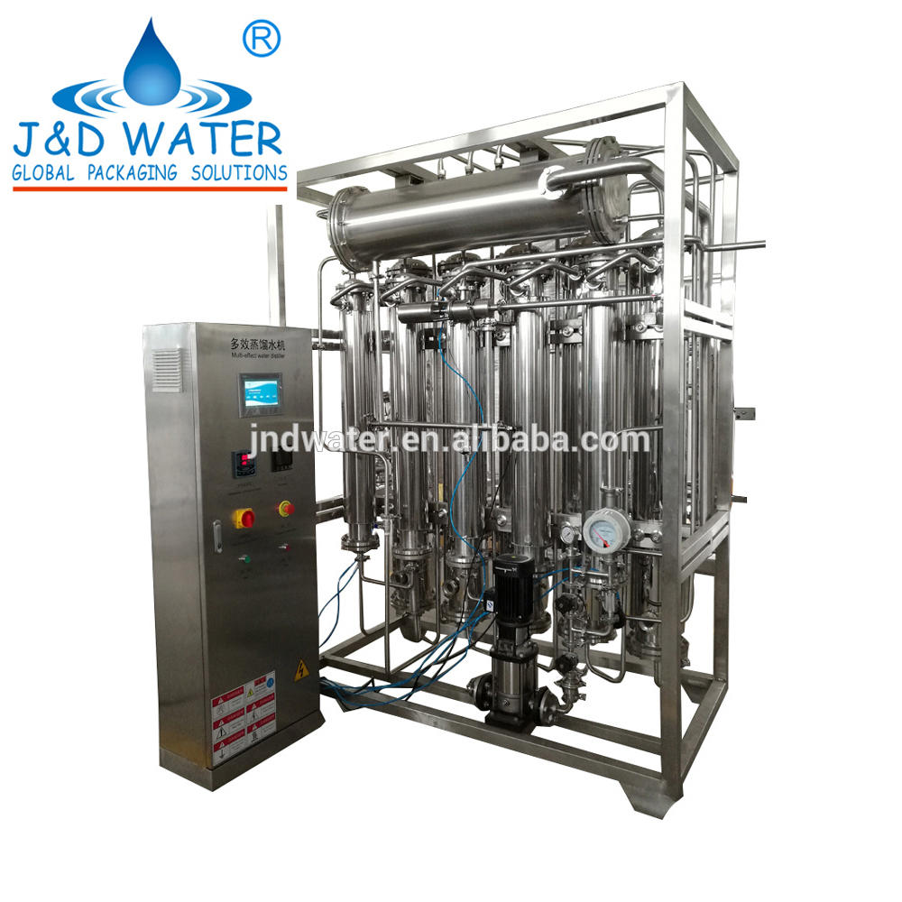 Factory Sale 0.325 Mpa Steam Pressure Water Distiller Machine