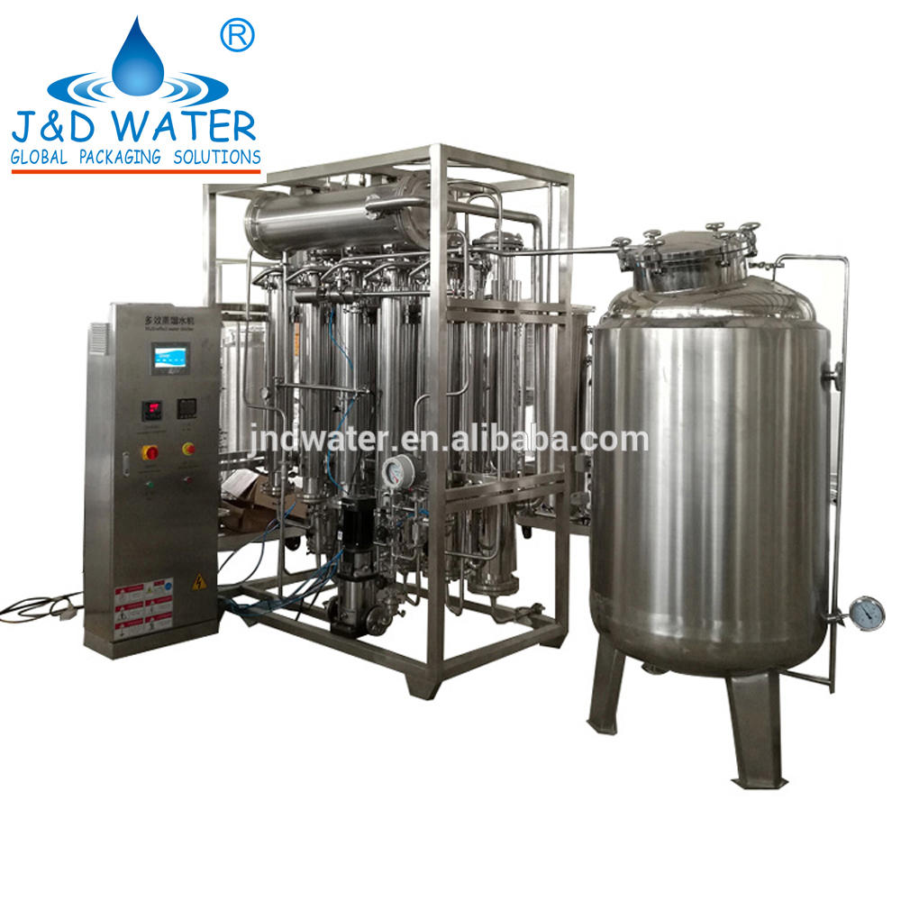 Electronic 1.5KW Power Water Distiller Machine Made in China