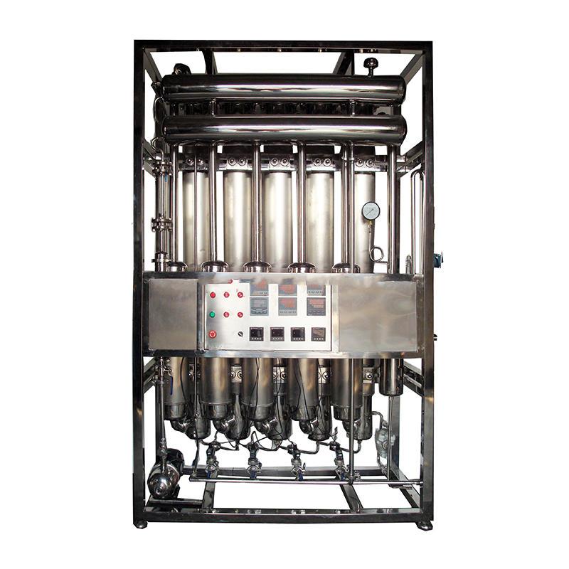 laboratory steel stainless water distiller distilled water machine