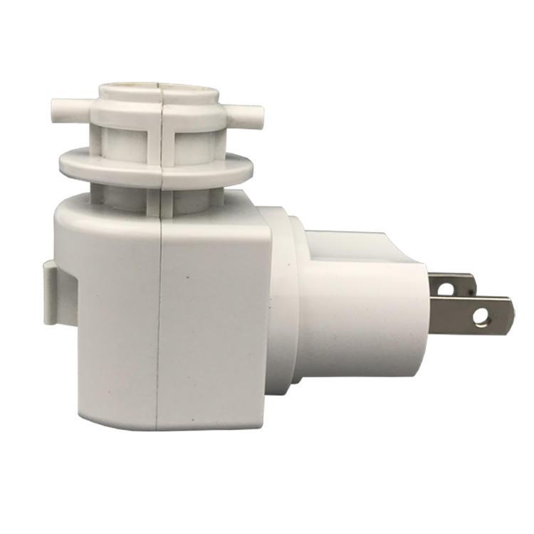 ETL lamp socket USA standard Pakistan Salt Wall lamp Night Light type lamp holder e12 electrical plug in socket