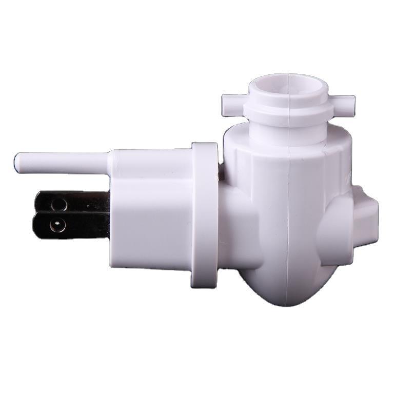 OEM ETL approved USA Canada Switch socket lamp holder rotating night light socket plug in for ceramic,iron, salt lamp 110V-120V