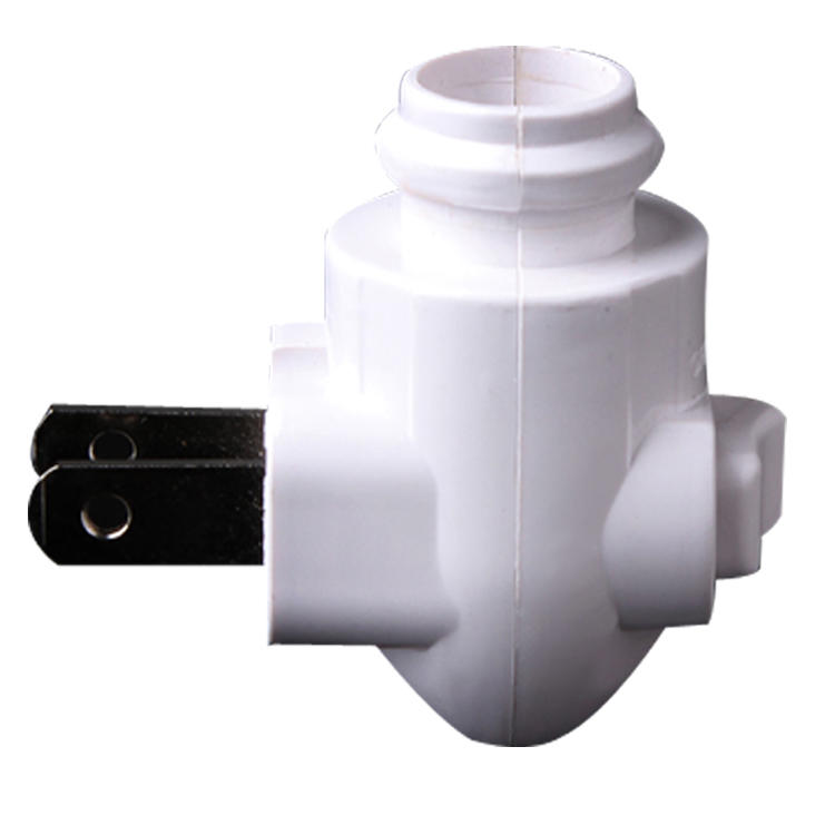 PC material Lamp BaseNight Light socket E12 caliber ETL USA PLUG LAMP