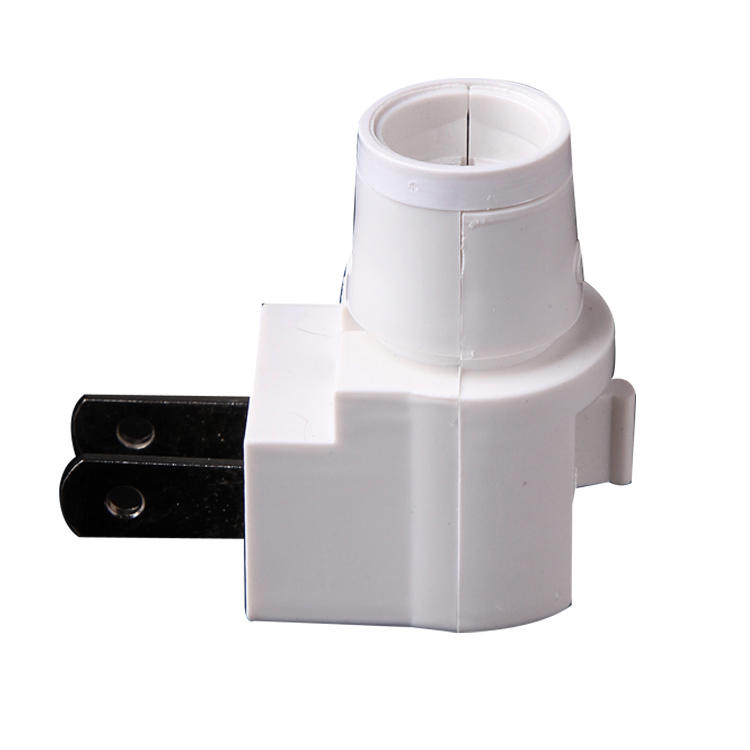 USA lamp holder types bulb E12ETL electrical plug in night light base lamp socket of decoration