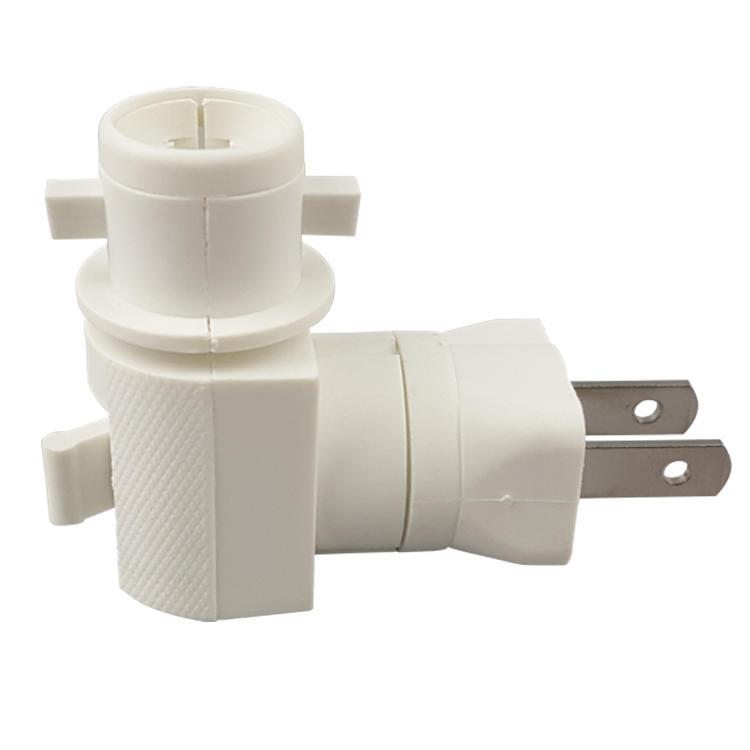 ETL E12 USA Lamp holder electrical plug in lamp socket adapter night light socket GL-073A