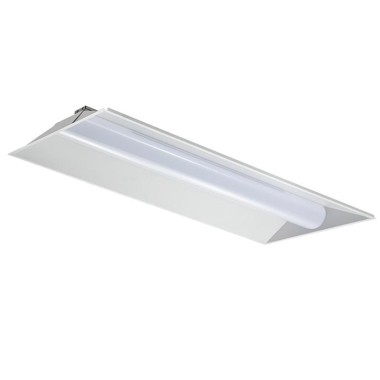 Ultra thin u l ETL DLC premium Hospital Library lighting CCT recessed 27w 36w 42w 50w Led 2x4 Troffer Light
