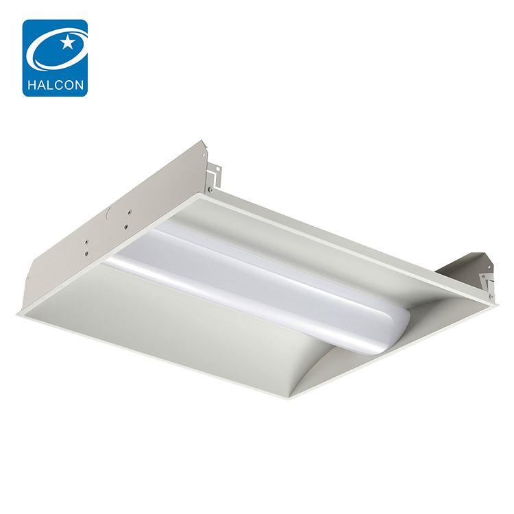 Zhongshan lighting 3000K 4000K 5000K 2x2 2x4 24 36 42 50 w led troffer lamp