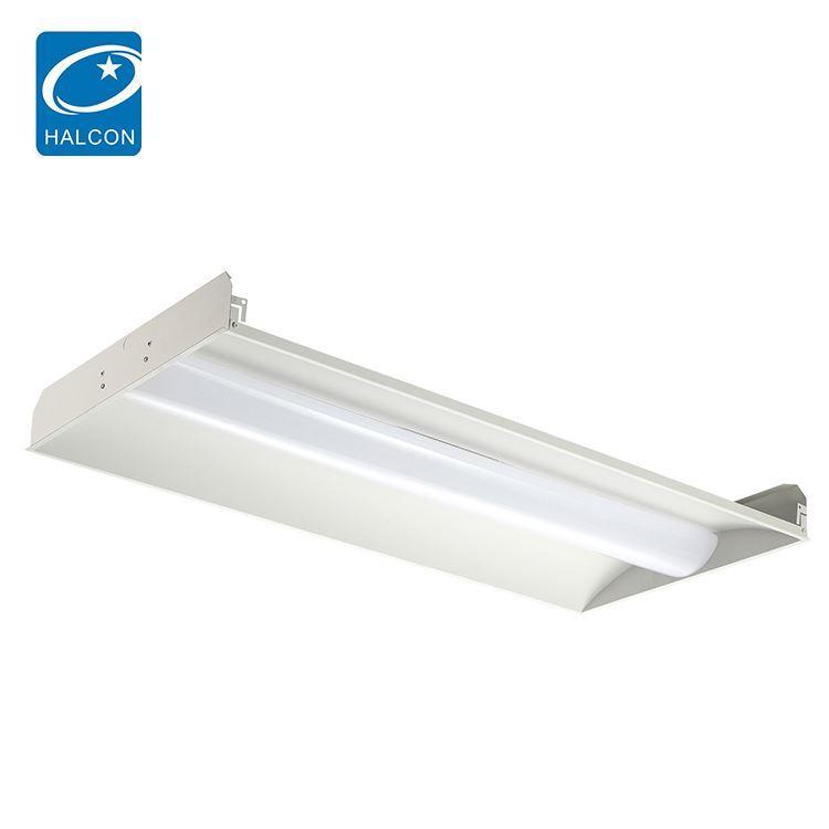 High lumen slim lighting 2x2 2x4 24 36 42 50 watt led linear troffer light
