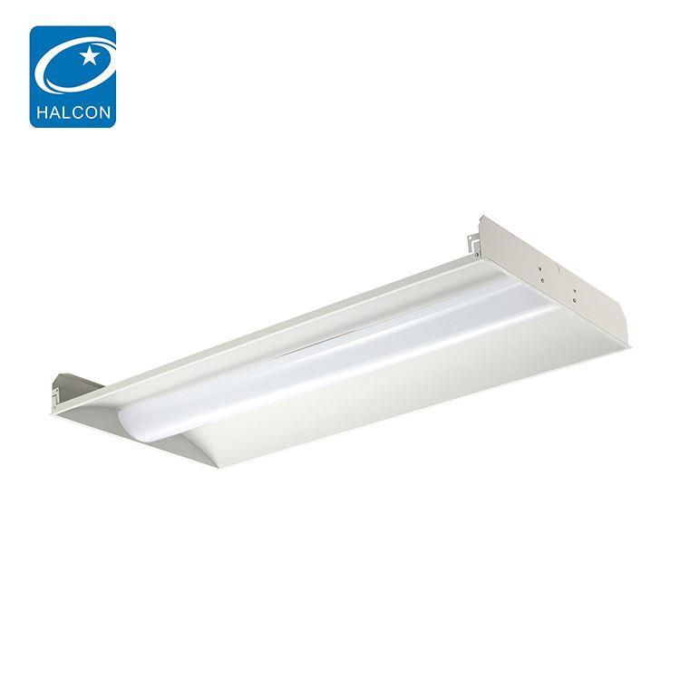 High power corridor adjustable 2x2 2x4 24w 36w 42w 50w led ceiling troffer