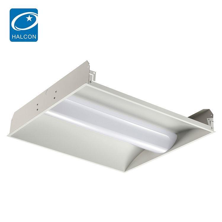 High lumen hanging 2x2 2x4 24 36 42 50 w linear led troffer